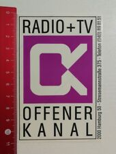 Aufkleber/Sticker: Radio TV OK Offener Kanal (230417174)