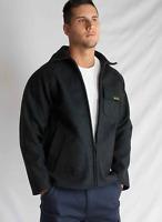 Agmer Workwear 34oz Heavy Australian Made 3/4 Long Wool Woolen Bluey Jacket Coat