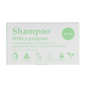 Shampoo with a Purpose Bar The O.G. 125g OG Shampoo& Conditioner