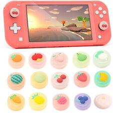4 Colorful Fruit Thumb Grips Cover Joystick Rocker Caps For Nintendo Switch/Lite