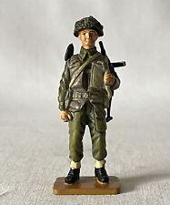 METAL Del Prado 1:32 CANADA 1944 ROYAL WINNIPEG RIFLES SERGEANT Toy Soldier
