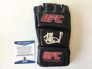 Islam Makhachev Signed Autographed UFC Glove BECKETT BAS COA c