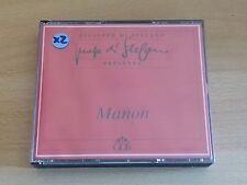 MASSENET / MANON / CLEVA - ALBANESE / DI STEFANO / HINES - 2 CD