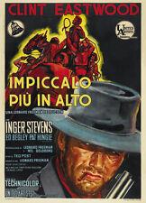 Hang Em High (1968)  Clint Eastwood cult movie poster print