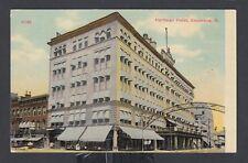 USA 1900s HARTMAN HOTEL POSTCARD COLUMBUS OHIO UNUSED