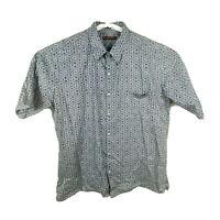 Tori Richard Mens XL Button Down Short Sleeve Floral Hawaiian Camp Shirt EUC