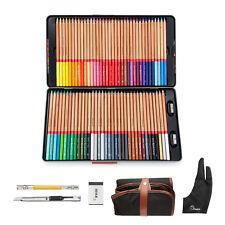 Pro Marco Renoir Fine Art 72 Colored Pencils Non-toxic Oil Base Pencils Set Gift