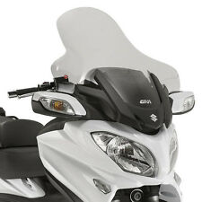 GIVI TRANSPARENTE WINDSHIELD PANTALLA SUZUKI BURGMAN 650 EXECUTIVE 13-16 D3104ST