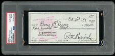 1984 Pistol Pete Maravich Signed Autographed Check PSA/DNA Certified