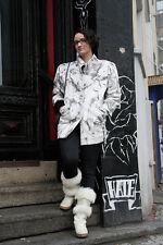 Damen Lederjacke Jacke ECHTES LEDER 90er TRUE VINTAGE woman leather jacket 90's