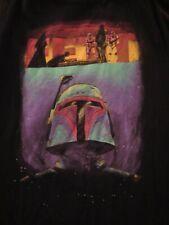 Star Wars Boba Fett 2XL XXL T-Shirt Tank Top JAWS Parody Darth Vader Nerdy
