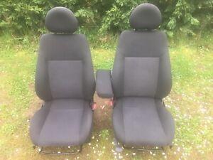 Original Fahrersitz Beifahrersitz Stoff/schwarz Sitzheizung Opel Meriva A BJ2004