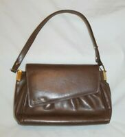 "Brown Leather Small Handbag Vintage Louis "" "" ?"