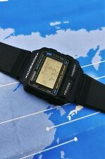Vintage Casio DB-59 Databank-Telememo 50, World time Wrist Watch