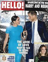 Hello Magazine Prince Harry Meghan Markle Kate Middleton Prince William 2020