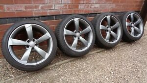 """Genuine Audi Rotor 19"""" Alloy Wheels 8K0601025CN A4 S4 A5 S5 A6 S6 5x112"""