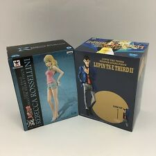 Lupin and Rebecca Rossellini Figures Master Stars Piece Lupin The Third New F/S
