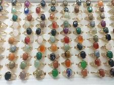 50/100pcs Wholesale Rings Lots Mixed Jewelry Lot Cz Crystal Ring Women Band Ring