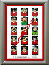 SWINDON TOWN - 1970-71 - REPRO STICKERS A3 POSTER PRINT