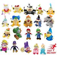 Super Mario Bros. Plush Toy Stuffed Doll Soft Animals Kids Birthday Gift US