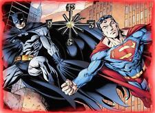 Superman VS Batman Wall Clock  Makes Great Gifts