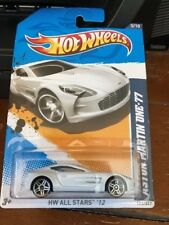 2012 Hot Wheels Hw All Stars Aston Martin One-77 #123
