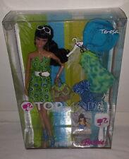 Barbie Top Model Resort Teresa Doll Muse Black Hair NEW 2007 Dress NRFB