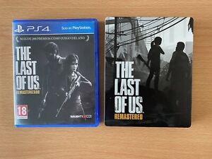 The Last of Us Remastered + Steelbook (Sony PlayStation 4, 2014)