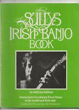 SULLY'S IRISH BANJO BOOK - TENOR BANJO IN TRADITIONAL STYLE
