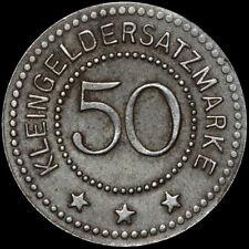 NOTGELD: 50 Pfennig 1918. Funck 624.6a. ZIEGENHALS / SCHLESIEN ⇒ GŁUCHOŁAZY.