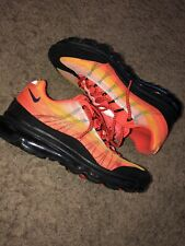 outlet store c75bb f0964 Nike Air Max 95 Dynamic Flywire Size 10 Sun Set Orange