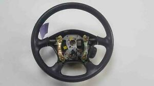 2000 Nissan Xterra Gray Vinyl Steering Wheel