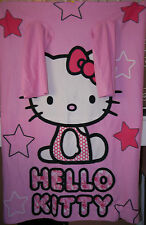 Hello Kitty pink blanket wrap with arms 190 x 115cm