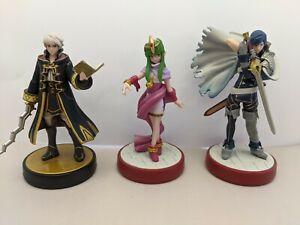 Nintendo Amiibo Fire Emblem Special Edition Figures, Chrom,Tiki & Robin