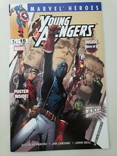 MARVEL HEROES FLIP MAGAZINE #15 (2005) YOUNG AVENGERS #2 2ND APPEARANCE! CHO!