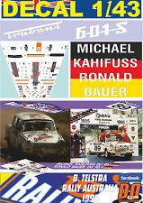 DECAL 1/43 TRABANT P601 MICHAEL KAHIFUS R.AUSTRALIA 1995 45th (04)