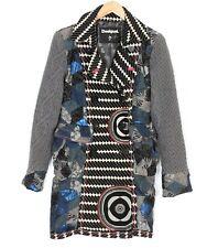DESIGUAL BY CHRISTIAN LACROIX 17E2L37 Coat Jacket Women Size 38 / UK ~12 MJ1016