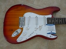 Steve Morse Deep Purple Signed Autograph Electric Guitar BAS Beckett Certified