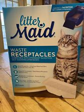 LitterMaid Waste Receptacles, Sealable 18-count 3rd Edition New Open Box Litter