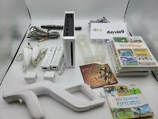 Nintendo Wii Sports Zapper Motion Plus bundle (7 games, 2 controllers)