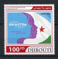 Djibouti 2017 MNH International Girls in ICT Day 1v Set Education Stamps