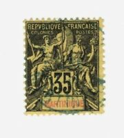 France SC #46 Martinique Θ used stamp