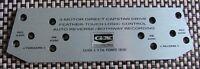 AKAI GX 635D Tape head cover