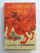 THE CATCHER IN THE RYE - J.D. Salinger - FIRST BOOK CLUB EDITION first printing