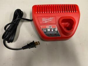 Milwaukee 48-59-2401 M12 12v Battery Charger Only OEM Genuine Redlithium