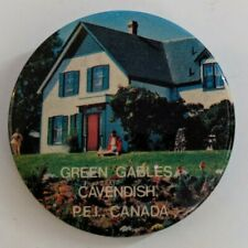 Vintage Anne of Green Gables Button Cavendish PEI Prince Edward Island Souvenir