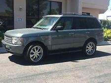 Range Rover Chrome Asanti F/s 22 Wheels Rims Tires 305/40R22 TPMS