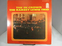 VG+RAMSEY LEWIS TRIO THE IN CROWD (VG) LP-757 LP VINYL RECORD VG+ Cover VG+/NM