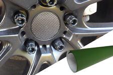 4x Alufelgen Felgen Naben Deckel Design Folie Olive Nato Grün viele Fahrzeuge