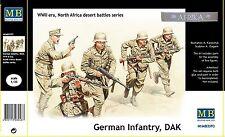 Master Box 1:35 - 3593 Germ. infan.,DAK. N. Africa desert batt., GMK World War I